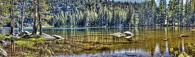 Photograph - Woods Lake 3 by SC Heffner