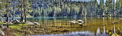 Woods Lake 3 Art Print