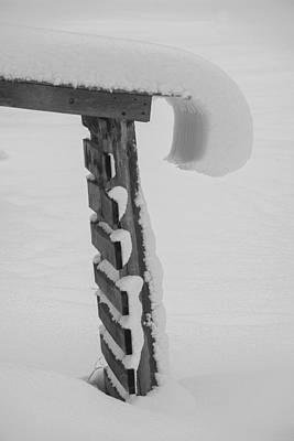 Photograph - Woodshed Glacier by Christopher Burnett