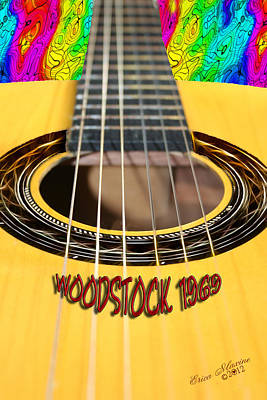 Joan Baez Photograph - Way Back When-woodstock 1969 - Lovefest by EricaMaxine  Price
