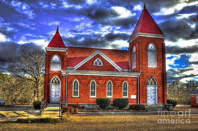 Photograph - Woodville Baptist Church 2 by Reid Callaway