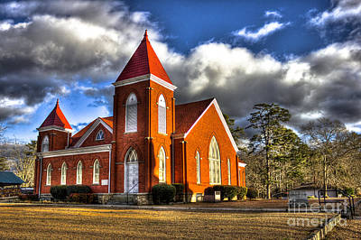 Photograph - Woodville Baptist Church Established In 1886 by Reid Callaway