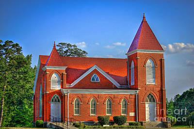 Photograph - Woodville Baptist Church by Reid Callaway