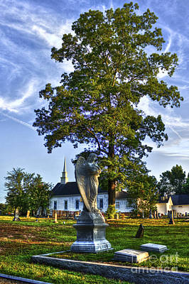 Photograph - Woodward Angel At Walker Umc by Reid Callaway
