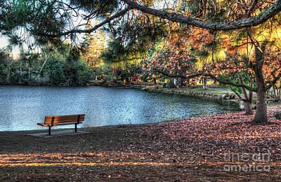 Photograph - Woodward Park by Eddie Yerkish
