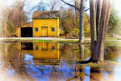 Photograph - Woodworking Shed At Historic Cold Spring Village by Carolyn Derstine