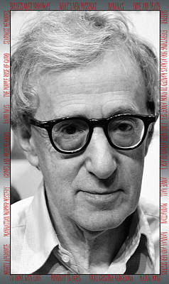 Personalized Name License Plates - Woody Allen 1 by Andrew Fare