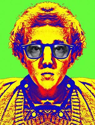 Woody Allen Alias Print by Art Cinema Gallery