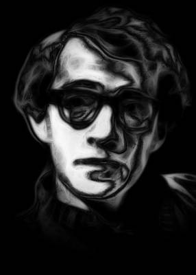 Woody Allen Digital Art - Woody Allen by Steve K