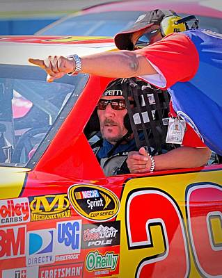 Photograph - Woody Nascar by Wayne Wood