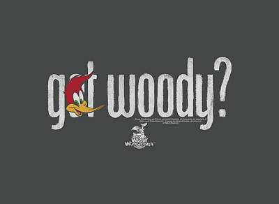 Woodpecker Digital Art - Woody Woodpecker - Got Woody by Brand A
