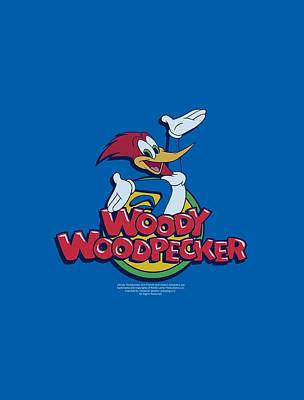 Woodpecker Digital Art - Woody Woodpecker - Woody by Brand A