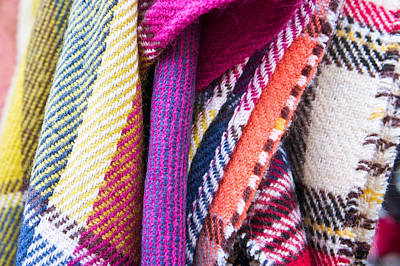 Handcrafted Photograph - Wool Blankets by Tom Gowanlock