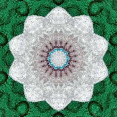 Digital Art - Wool Felt Kaleidoscope by Aliceann Carlton