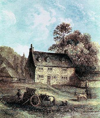 Lincolnshire Photograph - Woolsthorpe Manor by Universal History Archive/uig