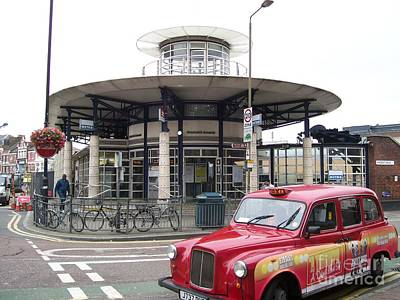 Photograph - Woolwich Arsenal Train Station  by Ellen Howell