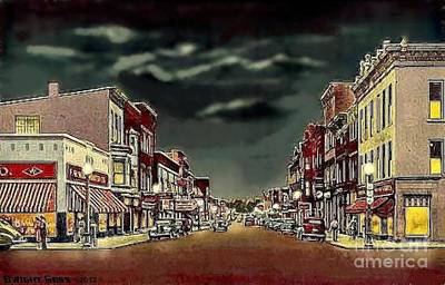 Painting - Woolworth's In Galion Oh by Dwight Goss