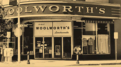 Photograph - Woolworth's by Nadalyn Larsen