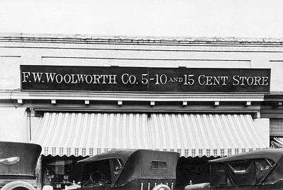 Woolworth's Store Art Print