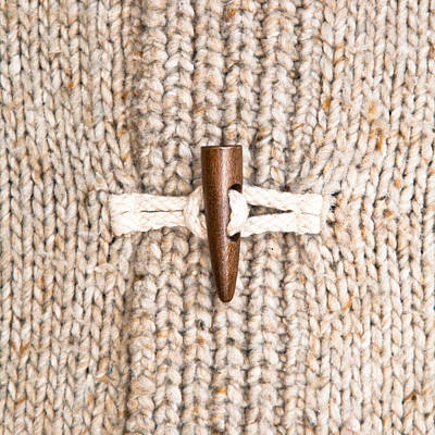 Toggle Photograph - Wooly Jumper Toggle by Tom Gowanlock