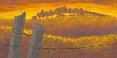 Painting - Wooten's Field by Garry McMichael