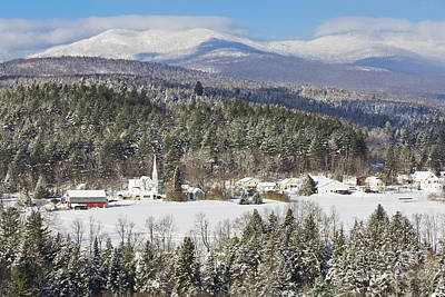 Photograph - Worcester Vermont Winter by Alan L Graham