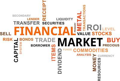 Word Cloud - Financial Market Original by Amir Zukanovic