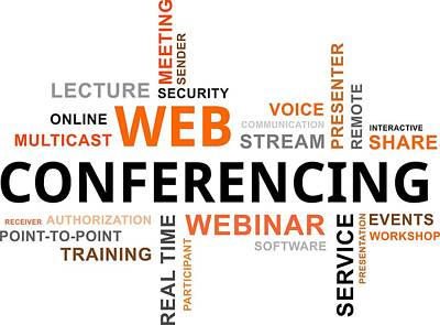 Word Cloud - Web Conferencing Original by Amir Zukanovic