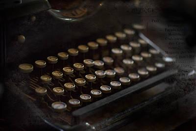 Photograph - Word Maker by Sara Hudock