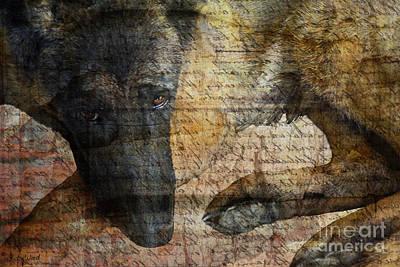 Judy Wood Digital Art - Wordless by Judy Wood