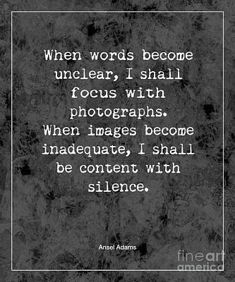 Photograph - Words Become Unclear by Kate McKenna