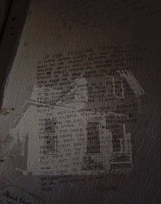 South Dakota Digital Art - Words Endure Walls Fall Down by Cathy Anderson