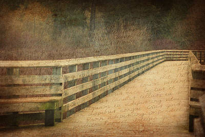 Photograph - Words In A Dream by Marilyn Wilson