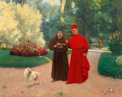 Catholic For Sale Painting - Words Of Wisdom by Jose Frappa