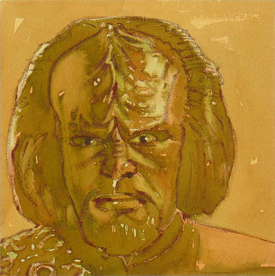 Painting - Worf by Joe Schneider