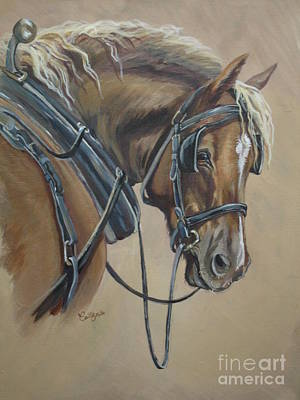 Painting - Work Horse by Callie Smith