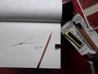Work In Progress Junction Theory R Art Print