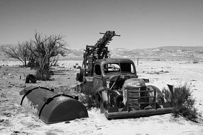 Photograph - Work Truck That Doesn't by Michael Courtney