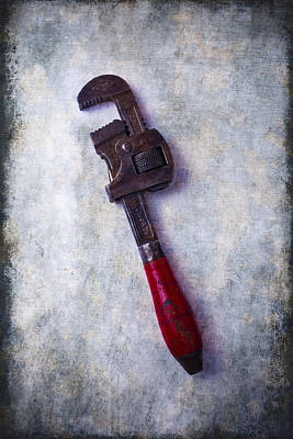 Photograph - Work Wrench by Garry Gay