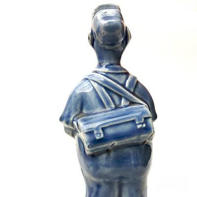 Worker Figurine Art Print by Bernard Jaubert