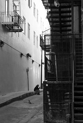 Worker On Break Art Print by Jim Hughes