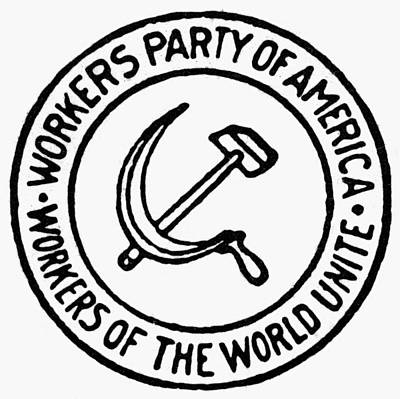 Communist Painting - Workers Party Of America by Granger