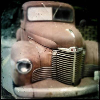 Photograph - workhorse International Harvester pickup by Tim Nyberg