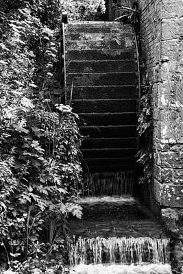 Water Filter Photograph - Working Antique Victorian Era Water Mill by Matthew Gibson