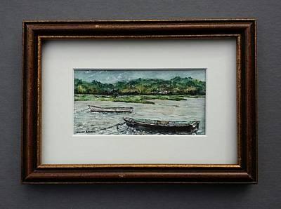 Painting - Working Boats  by Brenda Berdnik