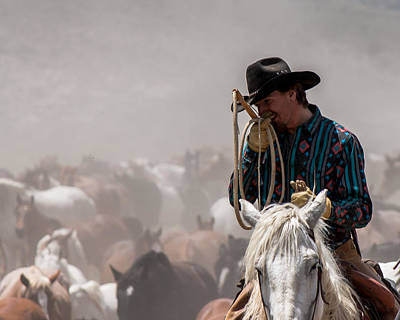 Photograph - Working Cowboy by John McArthur