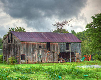 Photograph - Working Farm by Robert Culver