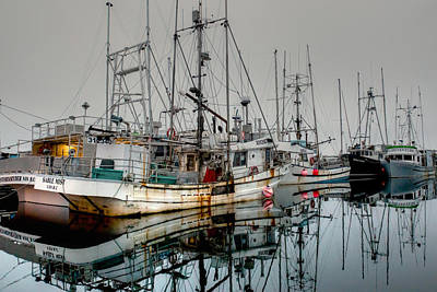 Photograph - Working Fleet... At Rest by Randy Hall