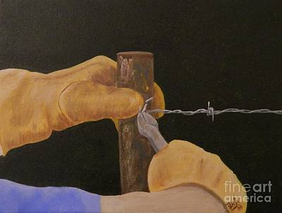 Painting - Working Hands by Tanja Beaver