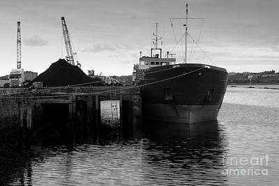 Working Harbour Art Print by Frank Anthony Lynott